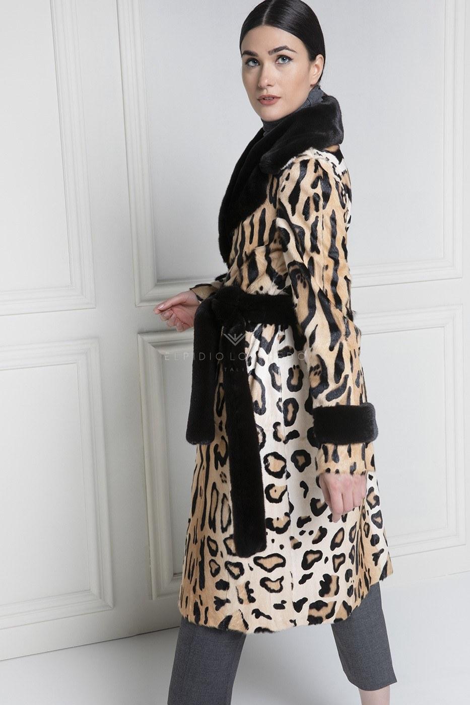 Cappotto di Kid - Lunghezza 110 cm
