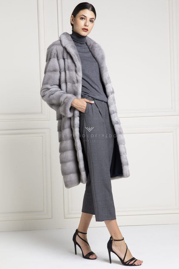 Sapphire Female Mink Fur - Length 105 cm
