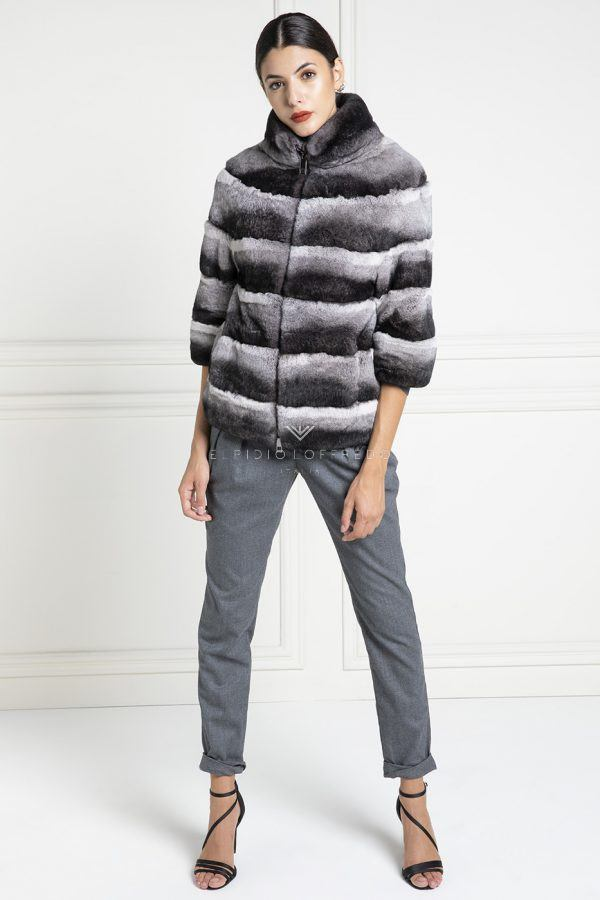 Orylag Fur Jacket - Length 65 cm