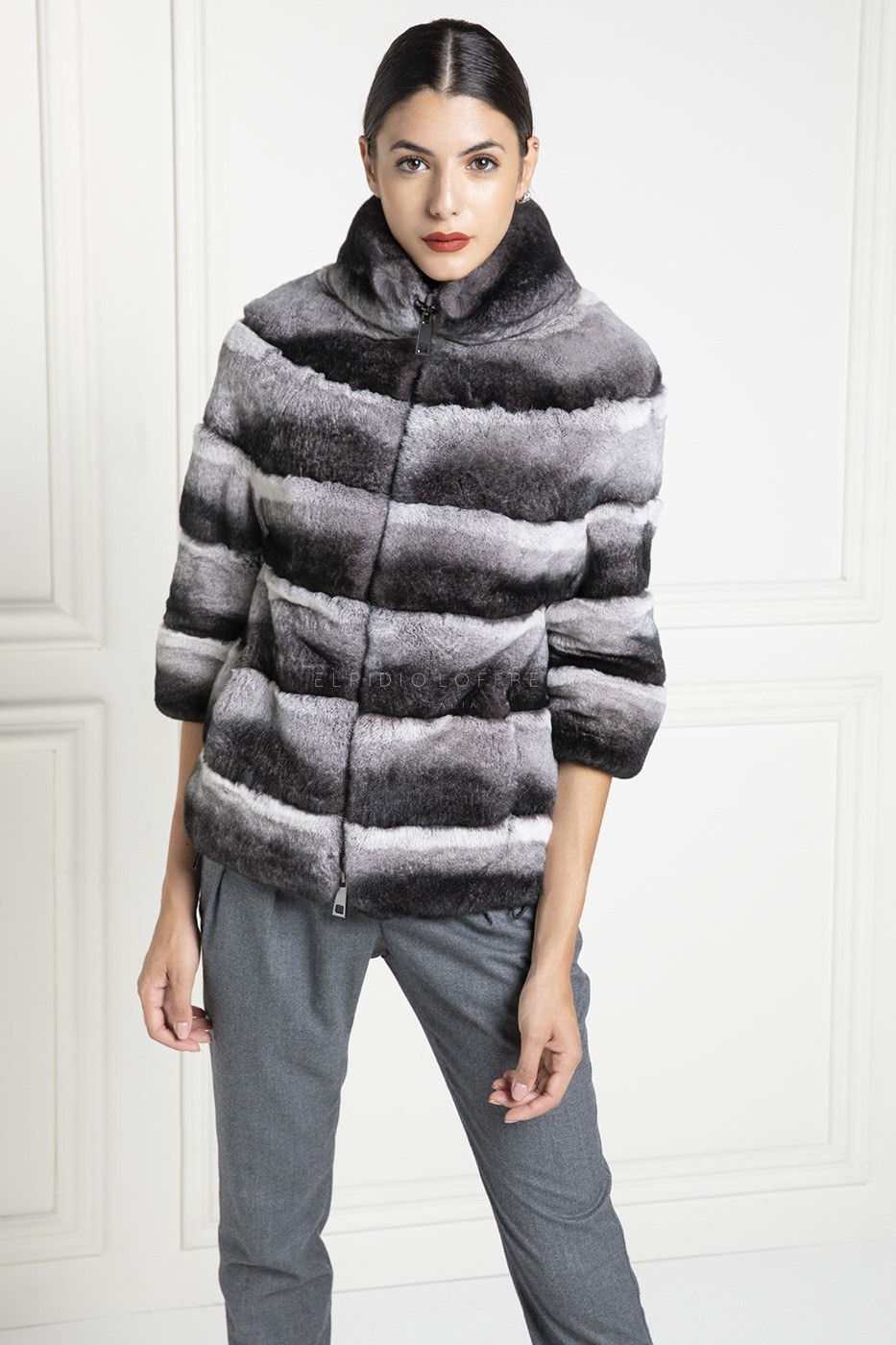 Orylag Fur Jacket - Length 65 cm