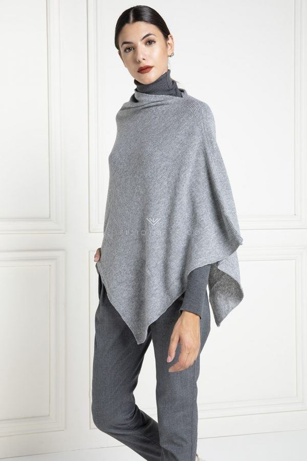 Grey Cashmere Loro Piana Cape