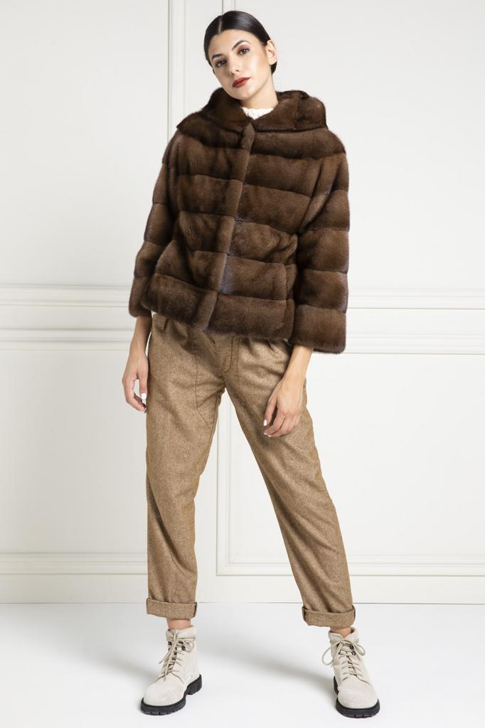 new style 0fcab 76831 Come indossare una pelliccia corta? - Elpidio Loffredo Furs