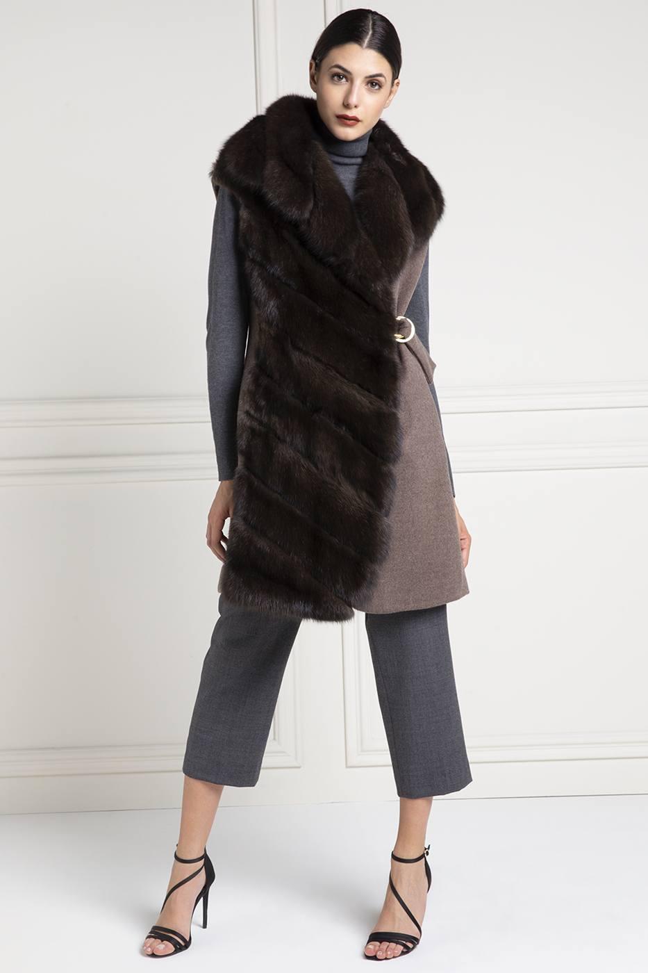 size 40 bc2b6 7f82f Quando indossare il gilet di pelliccia - Elpidio Loffredo Furs