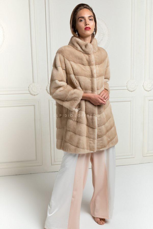 Cappotto di Visone Palomino