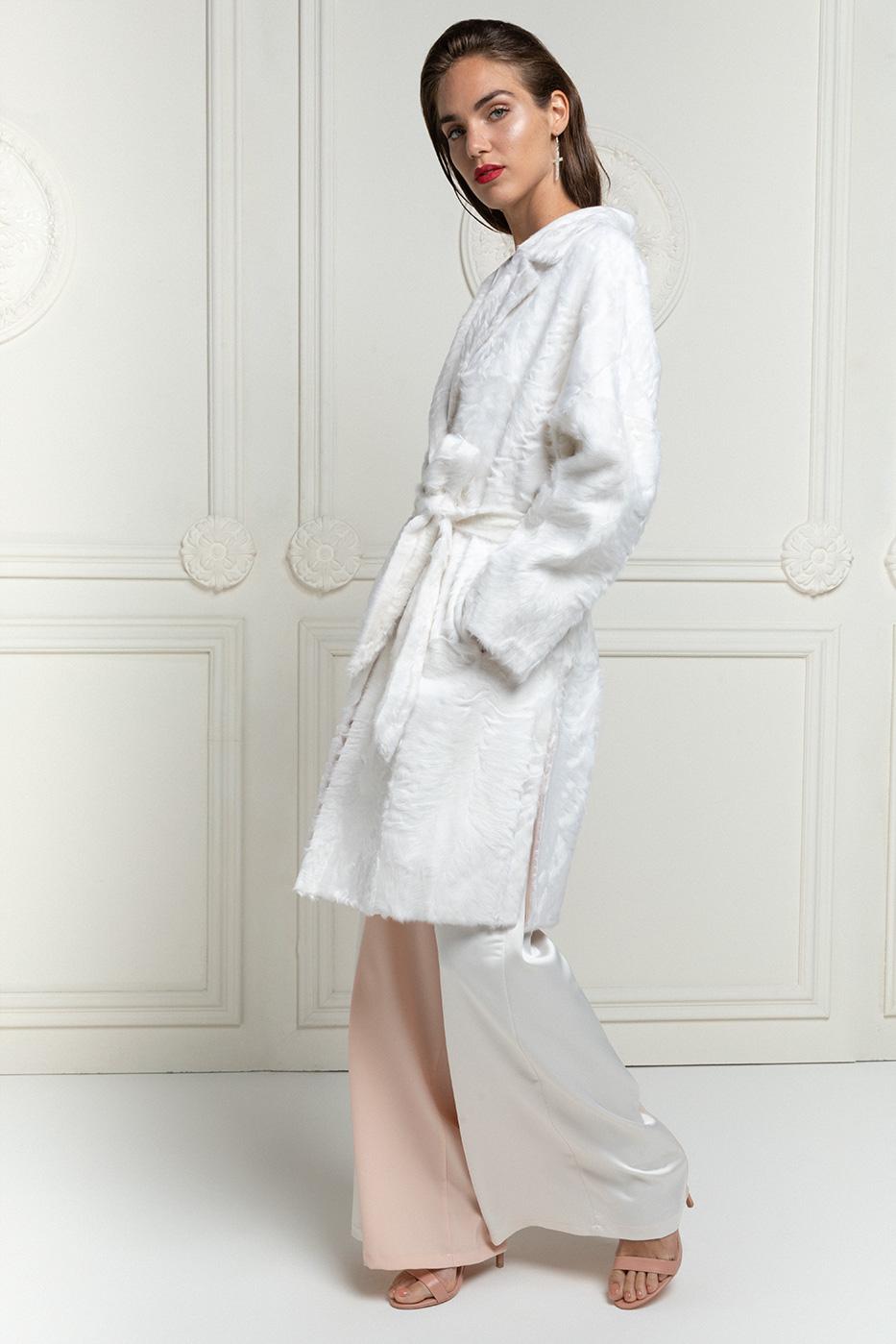 Cappotto di Xiangao Bianco