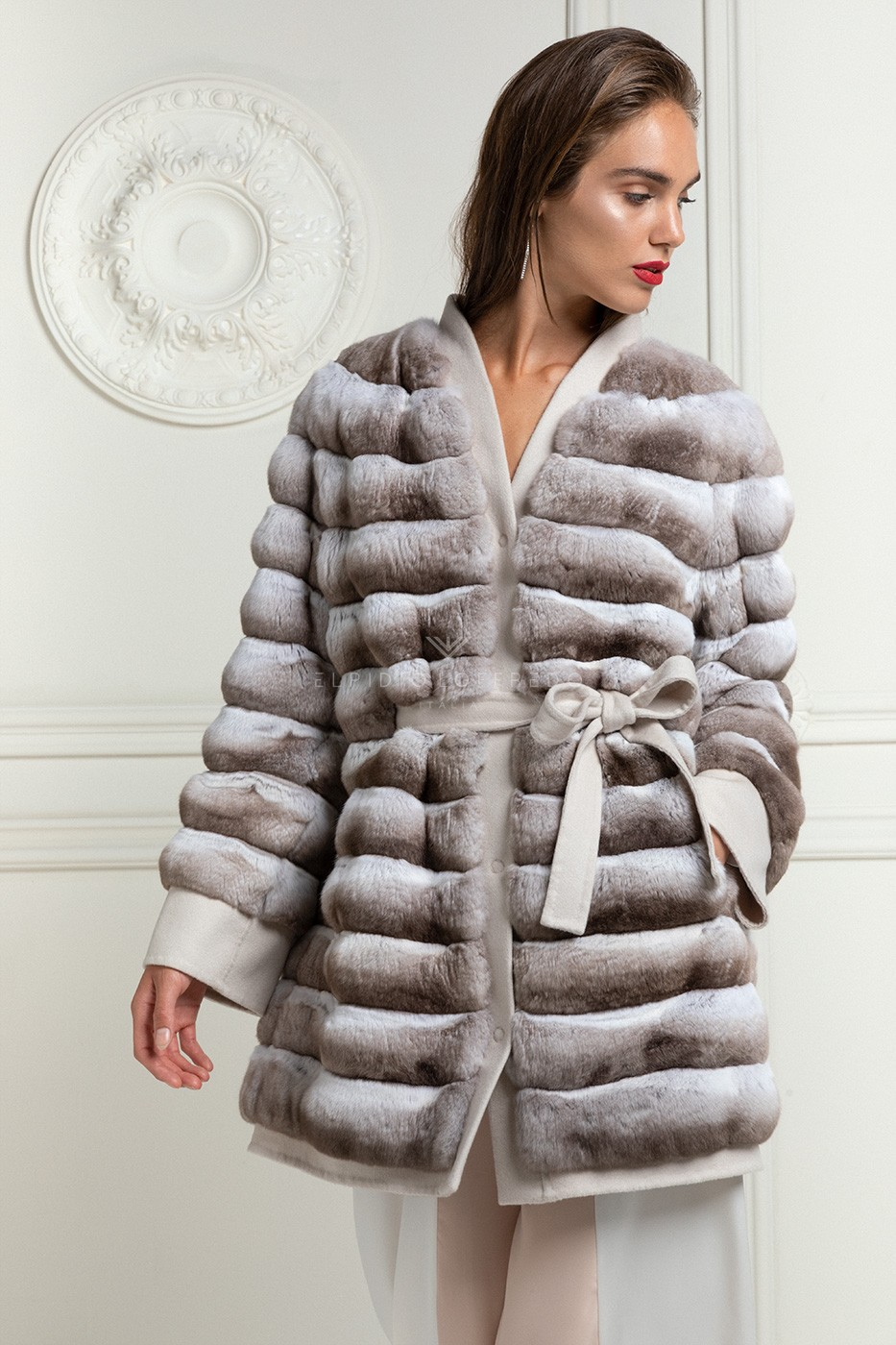 Cashmere Loro Piana with Chinchilla