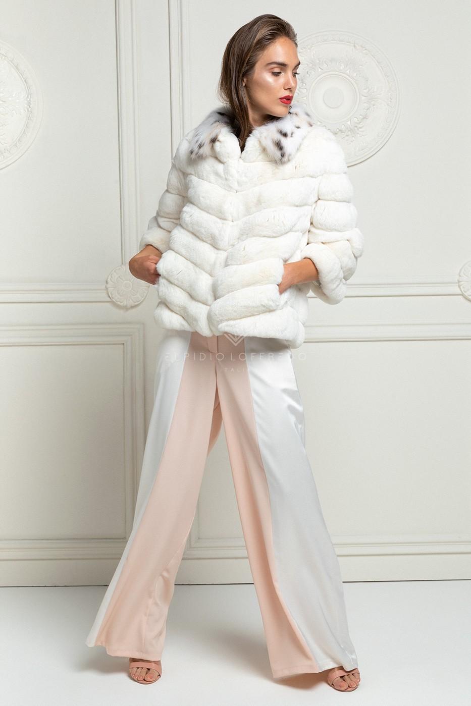 Chinchilla with Lynx Fur