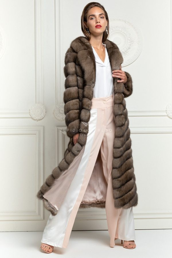 Titanio Sable Fur Coat
