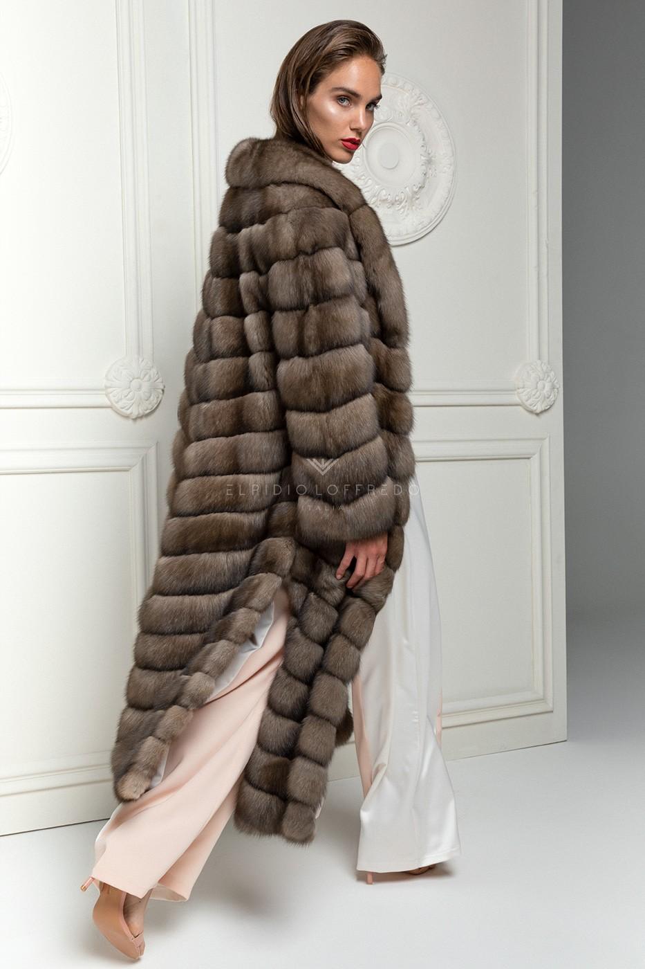 Titanio Sable Fur Coat