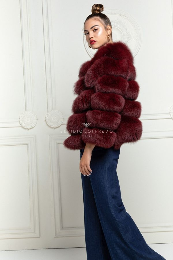 Bordeaux Fox Jacket