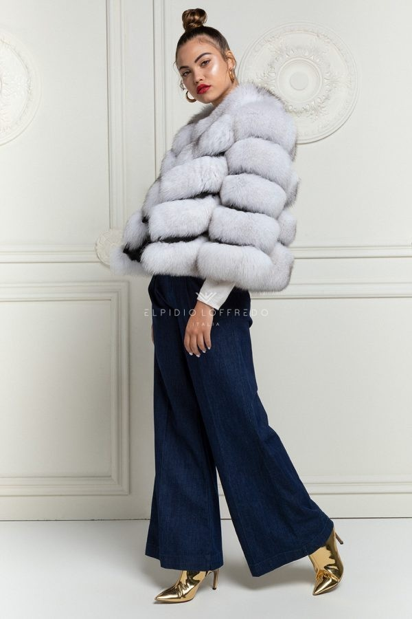 White Fox Jacket