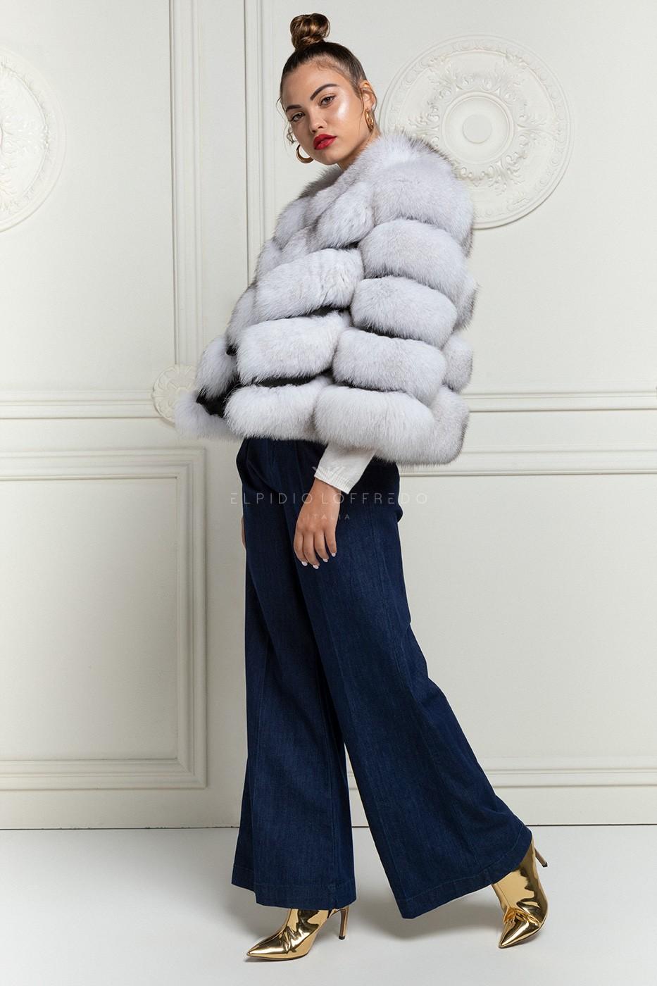 White Fox Jacket