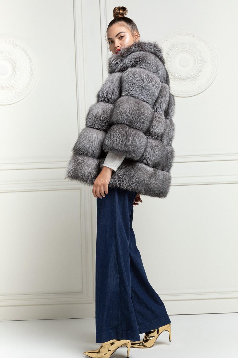 Blue Frost Fox Fur