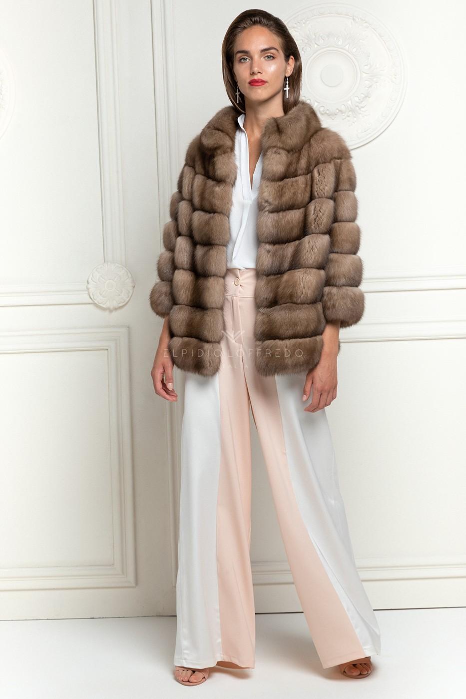 Barguzinsky Russian Sable Fur Jacket