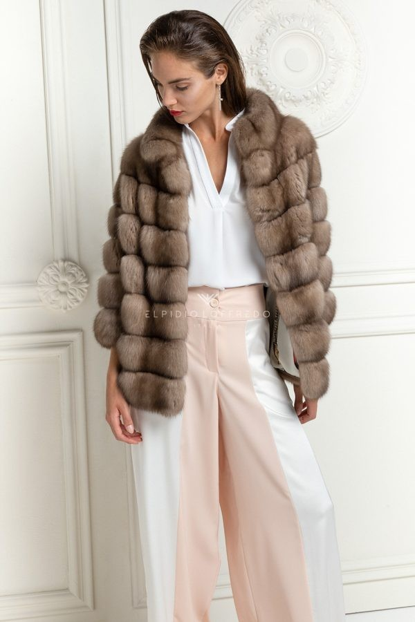 Barguzinsky Russian Sable Fur Jacket
