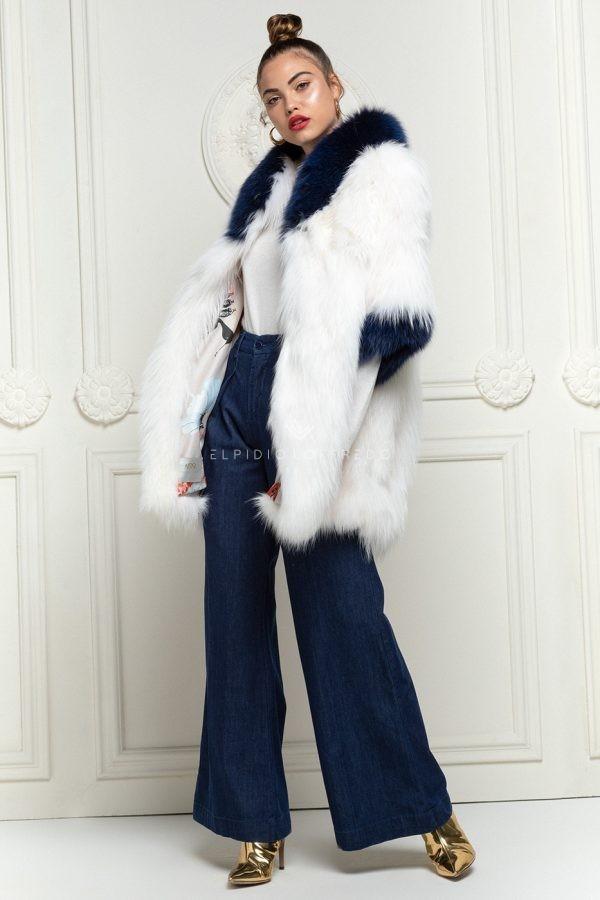 Cappotto di Volpe Bianca