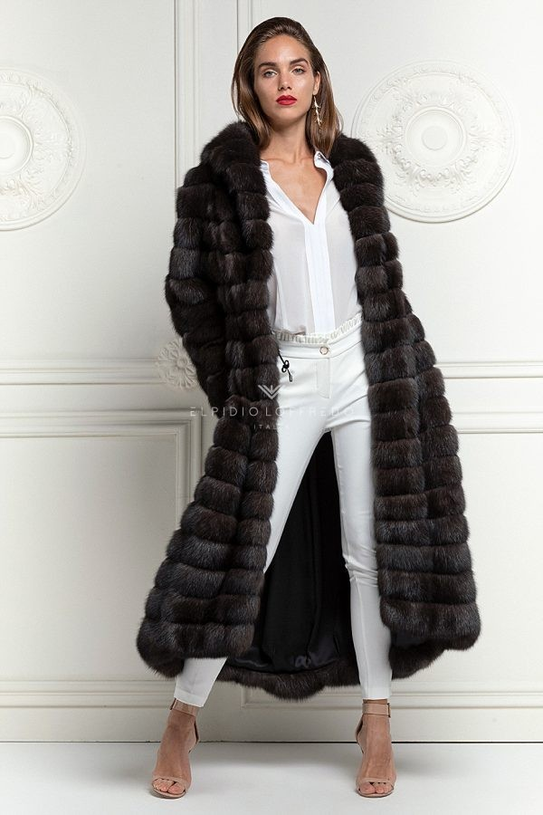 Antracite Russian Sable Fur