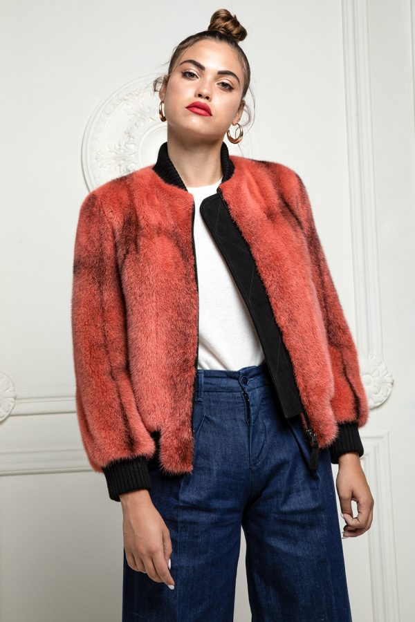 Mink Jacket with Wool