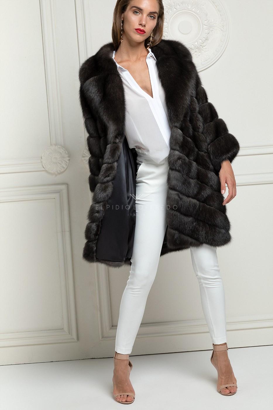 Antracite Barguzinsky Sable Coat