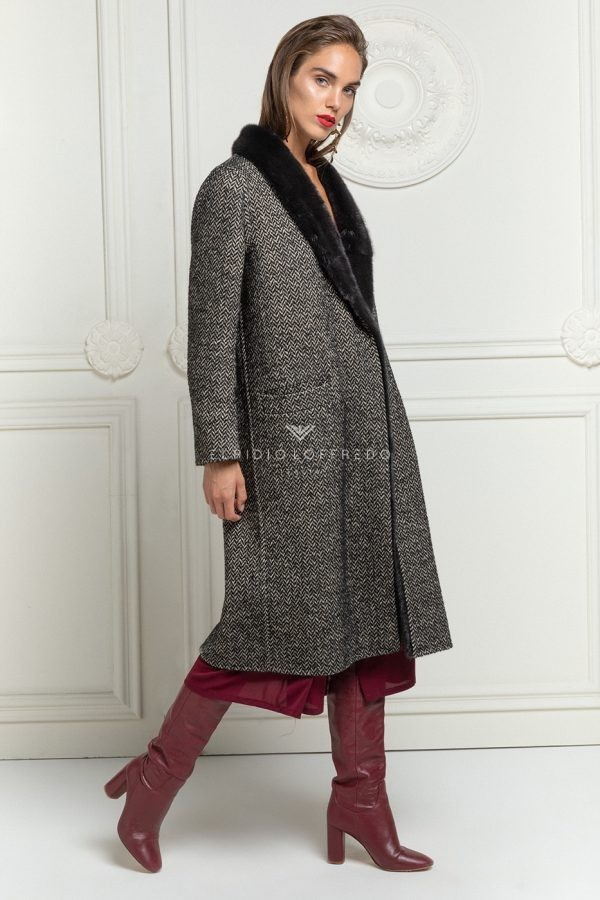 Loro Piana Cashmere with Mink