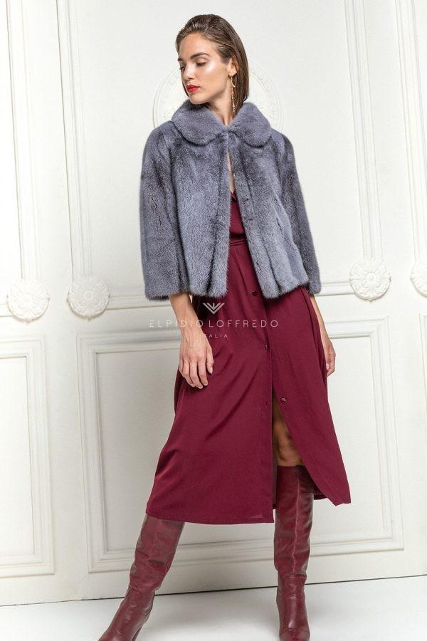 Glicine Mink Jacket