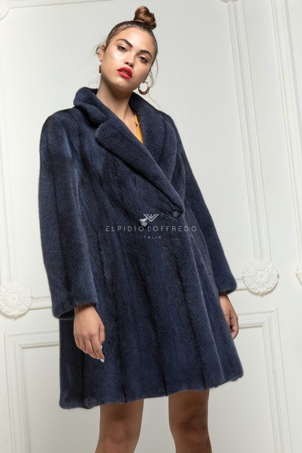 Blue Cross Mink Coat