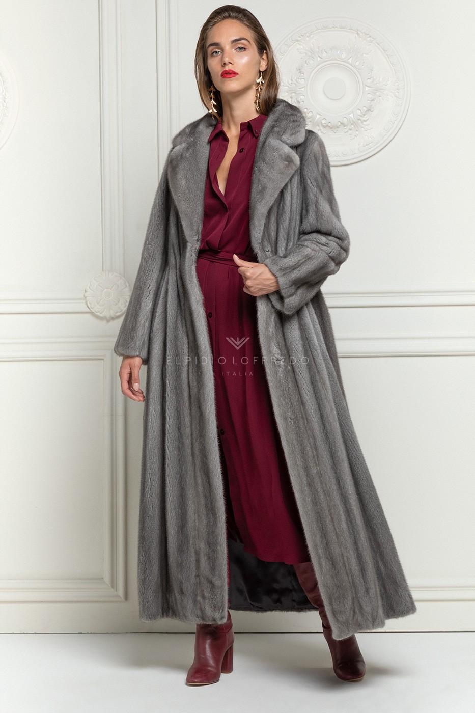 Cappotto di Visone Blue Iris
