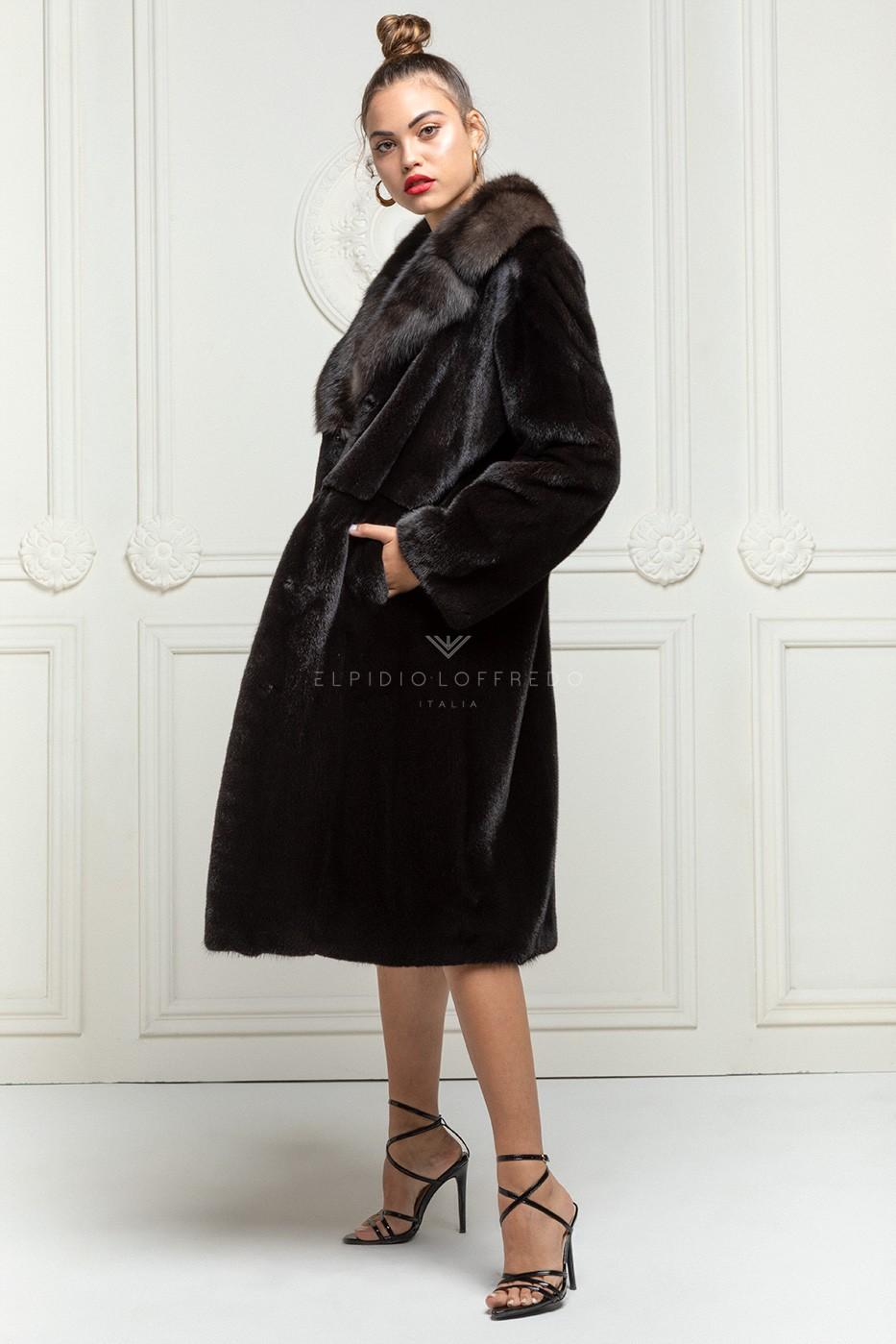 Blackglama Mink with Sable Fur