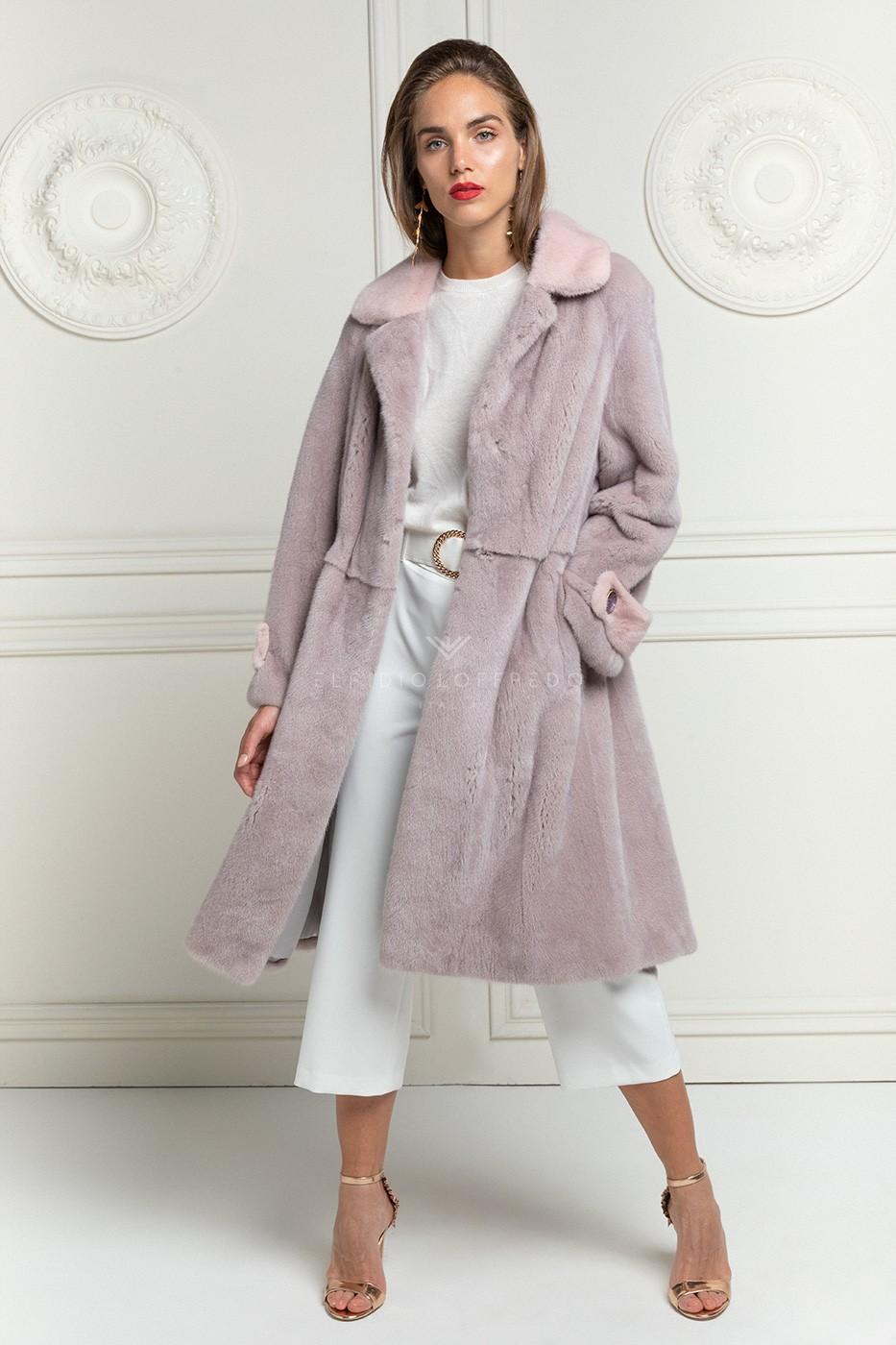 Pink Mink Coat