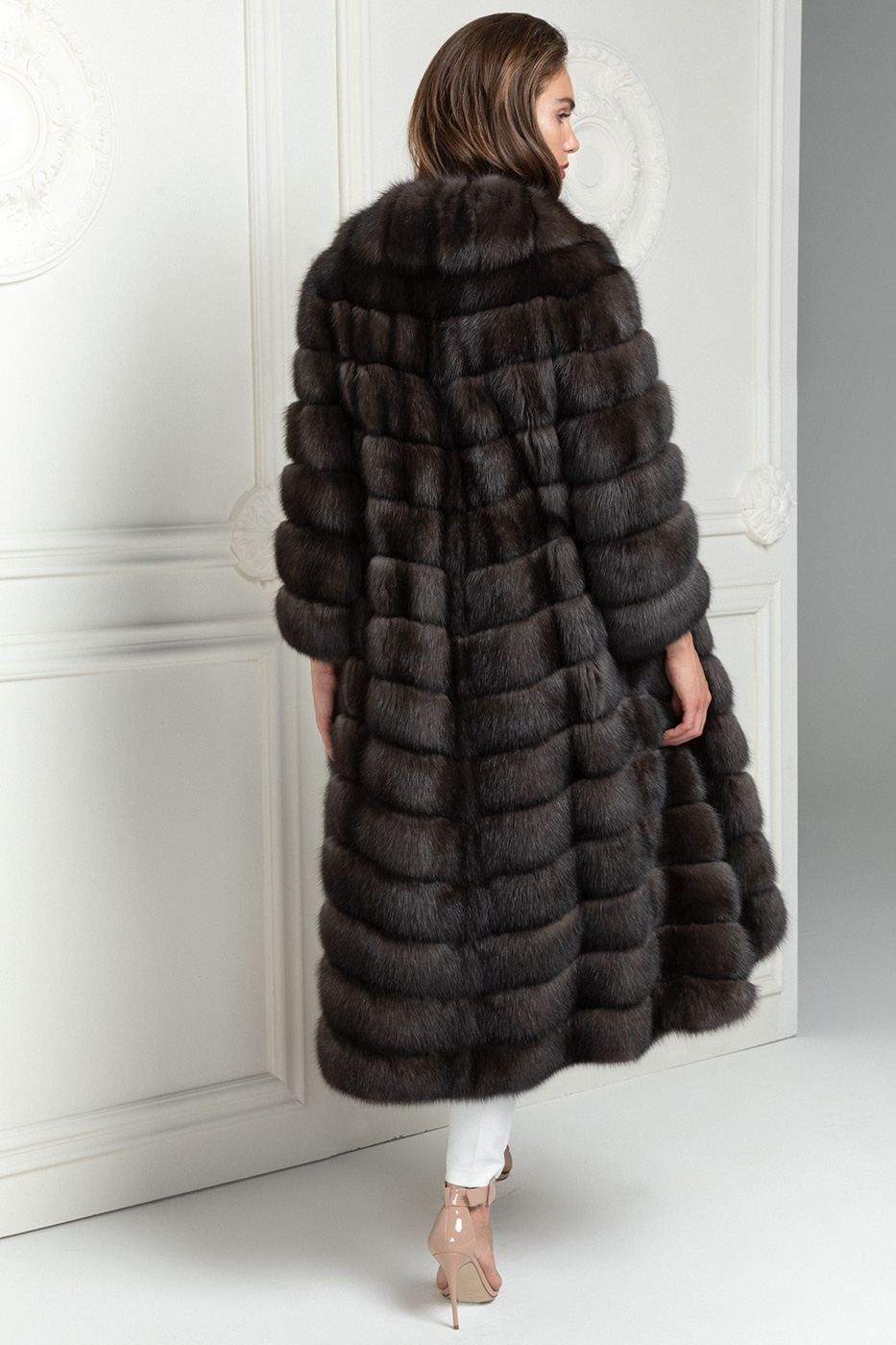 Antracite Russian Sable Coat