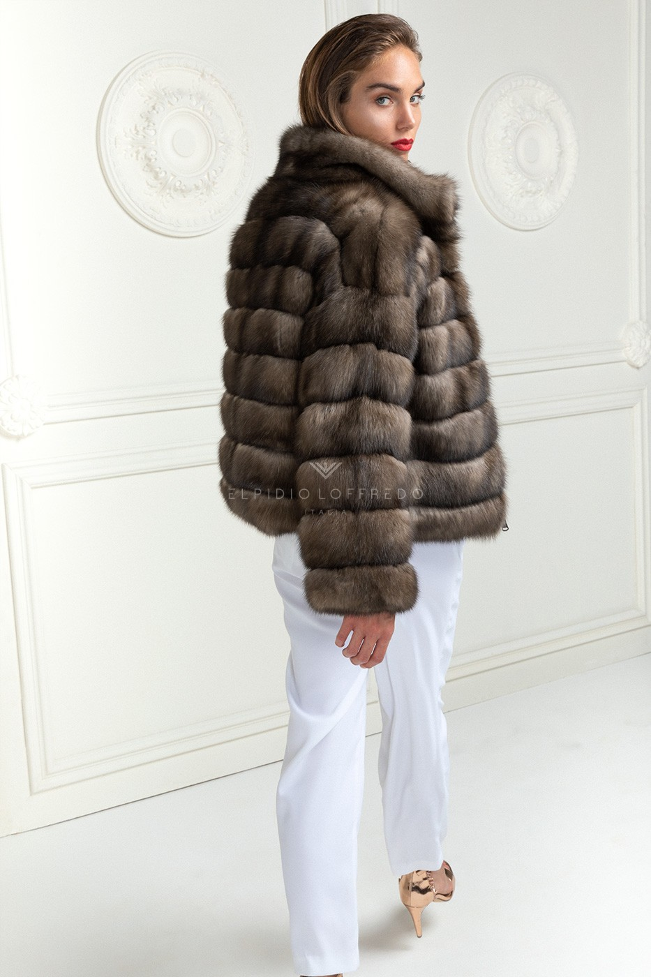 Russian Sable Jacket with Cashmere
