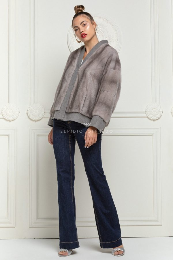 Cashmere Loro Piana with Silverblue Mink