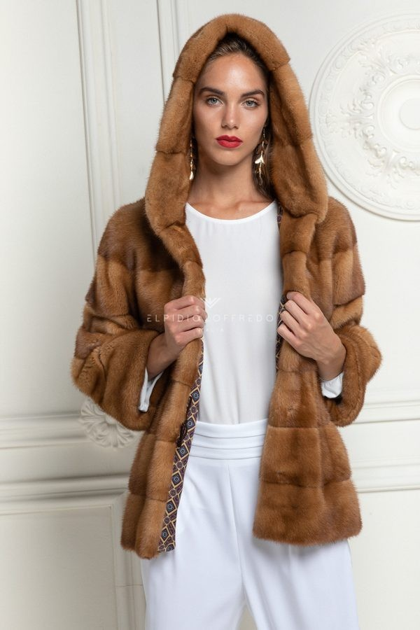 Honey Mink Jacket
