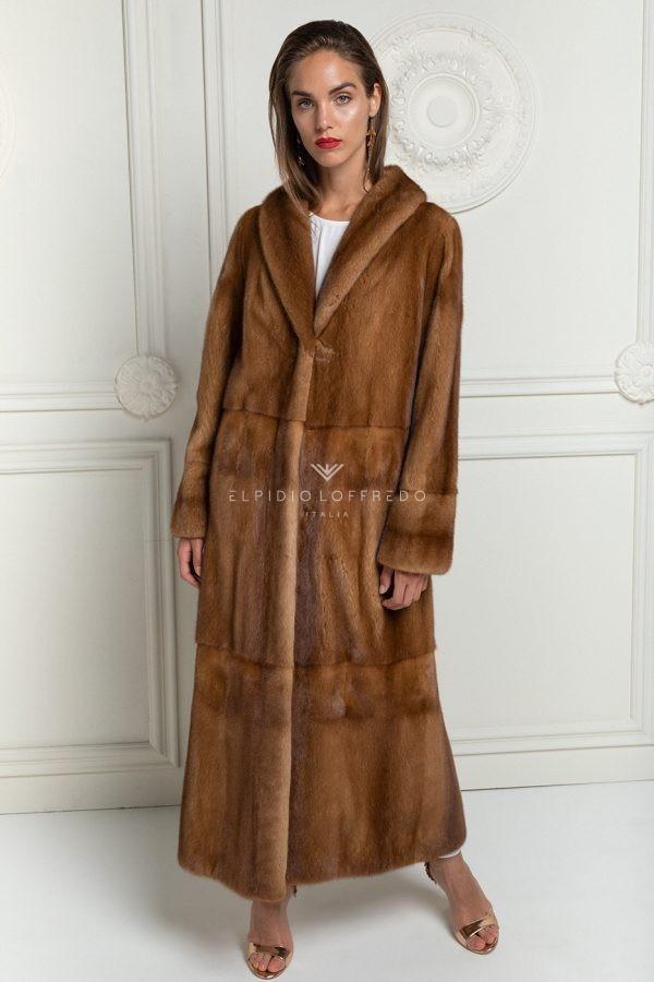 Cappotto di Visone Miele