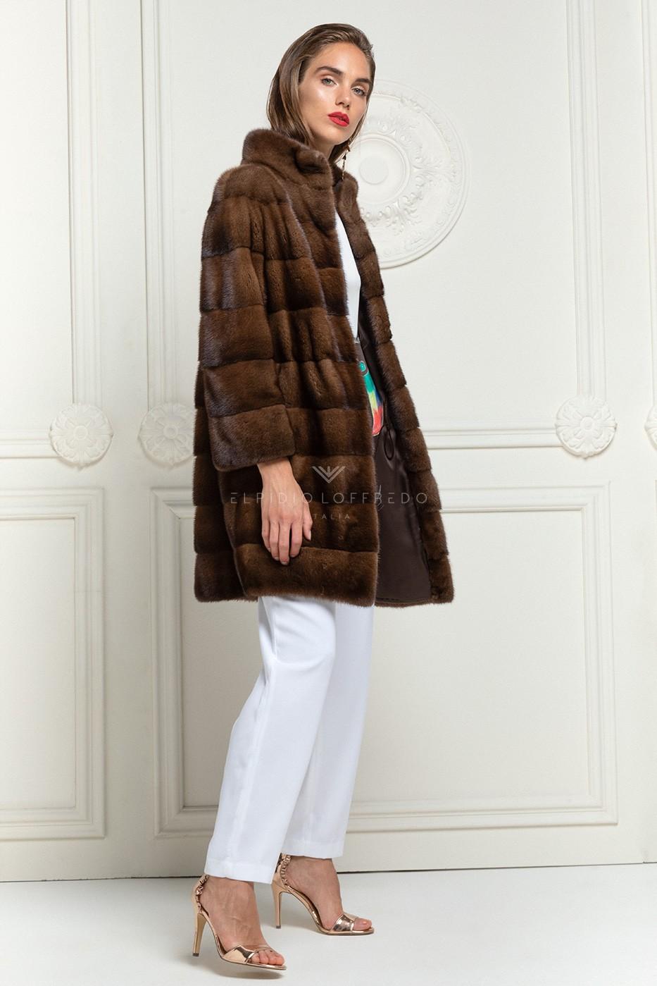 Brown Mink Coat