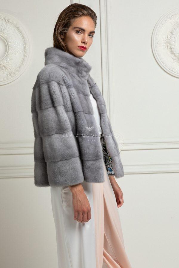 Sapphire Mink Jacket