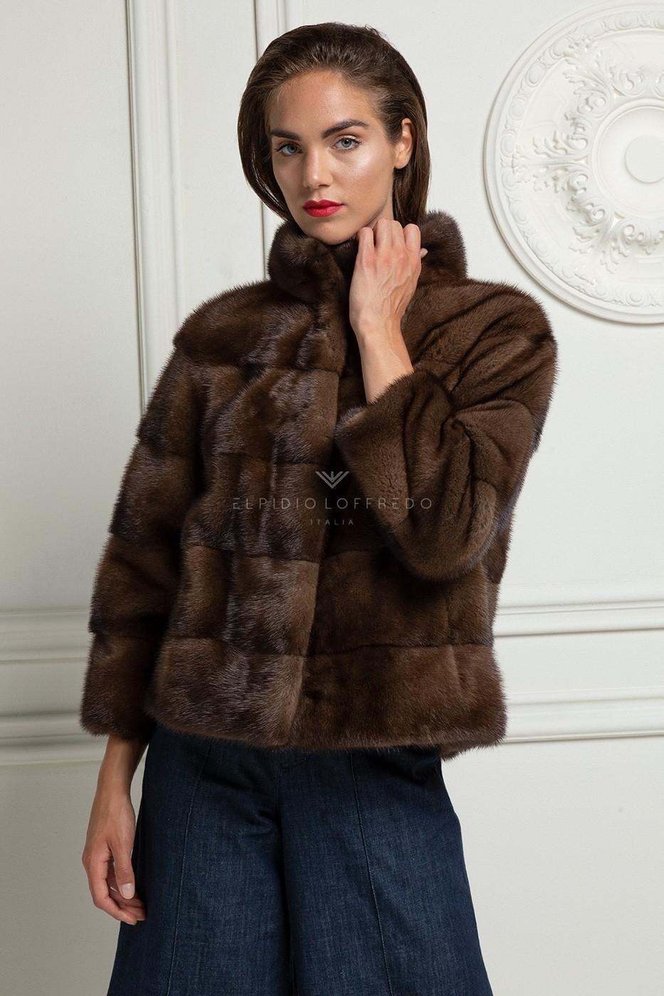 Brown Mink Jacket