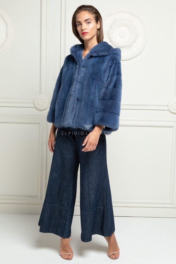 Blue Cross Mink Coat