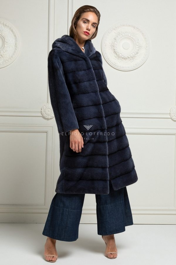 Cross Blue Mink