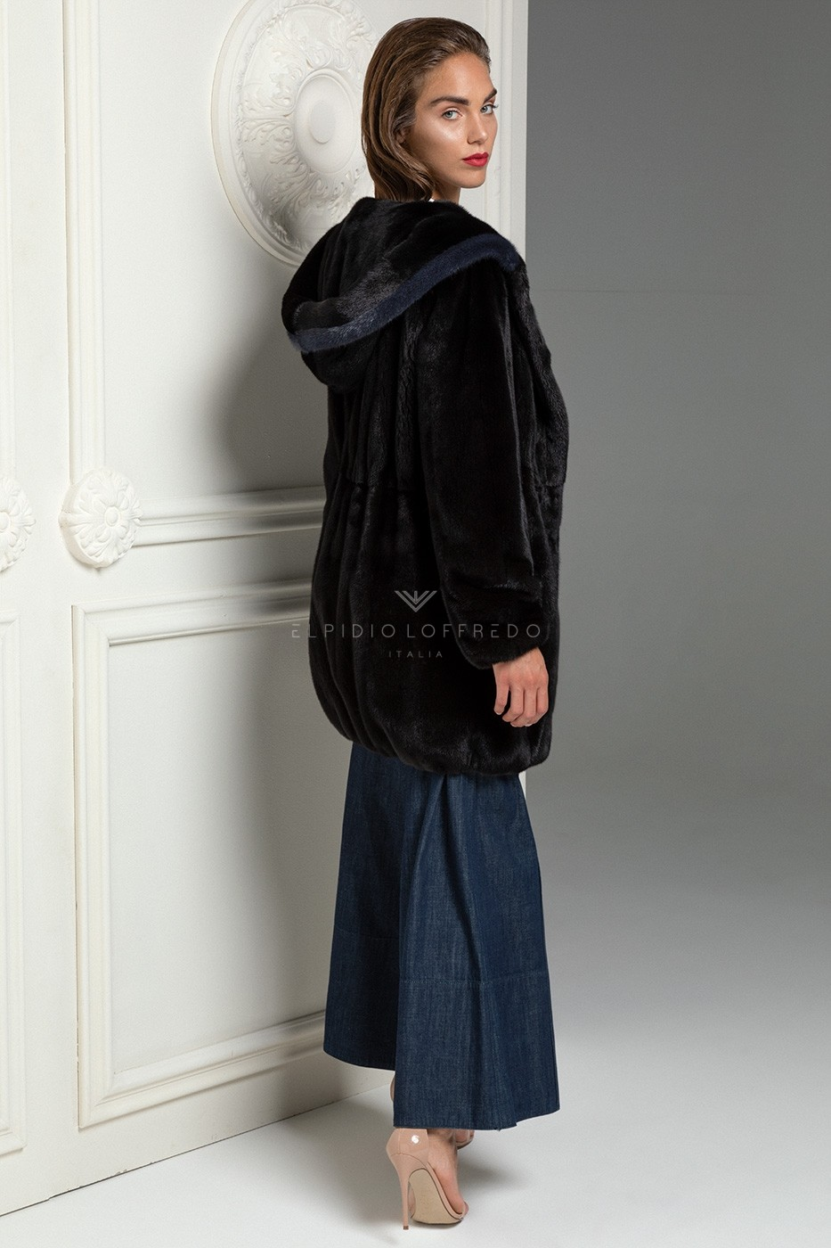 Blackglama Mink Coat with Hoodie