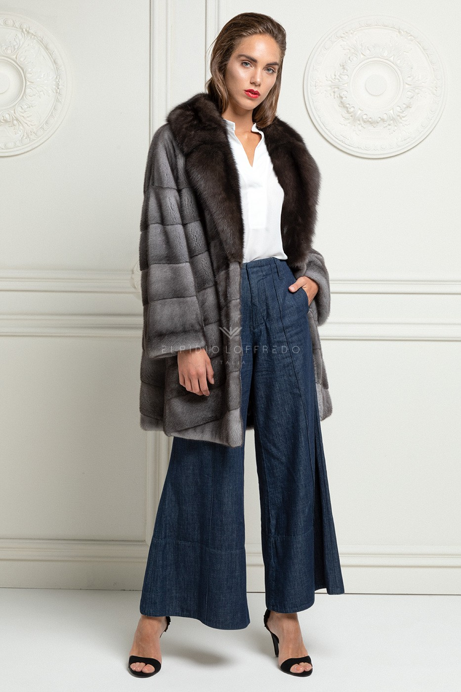 Blue Iris Mink with Sable