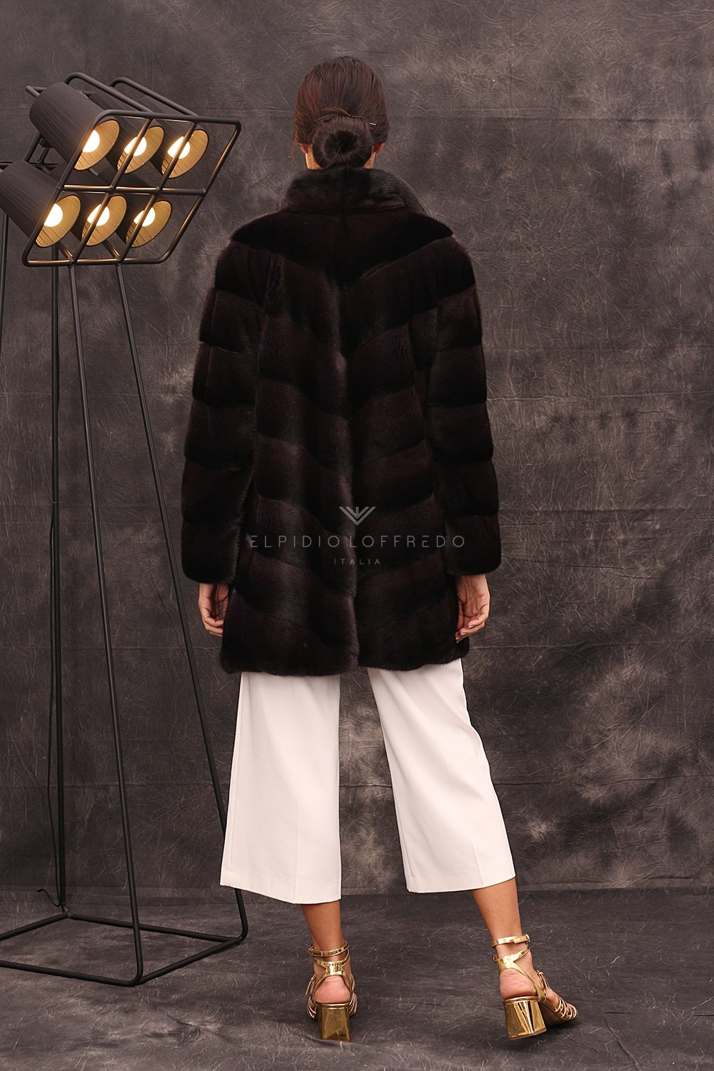 Cappotto di Visone Foresta