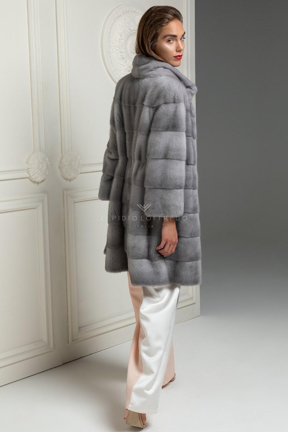 Cappotto di Visone Zaffiro