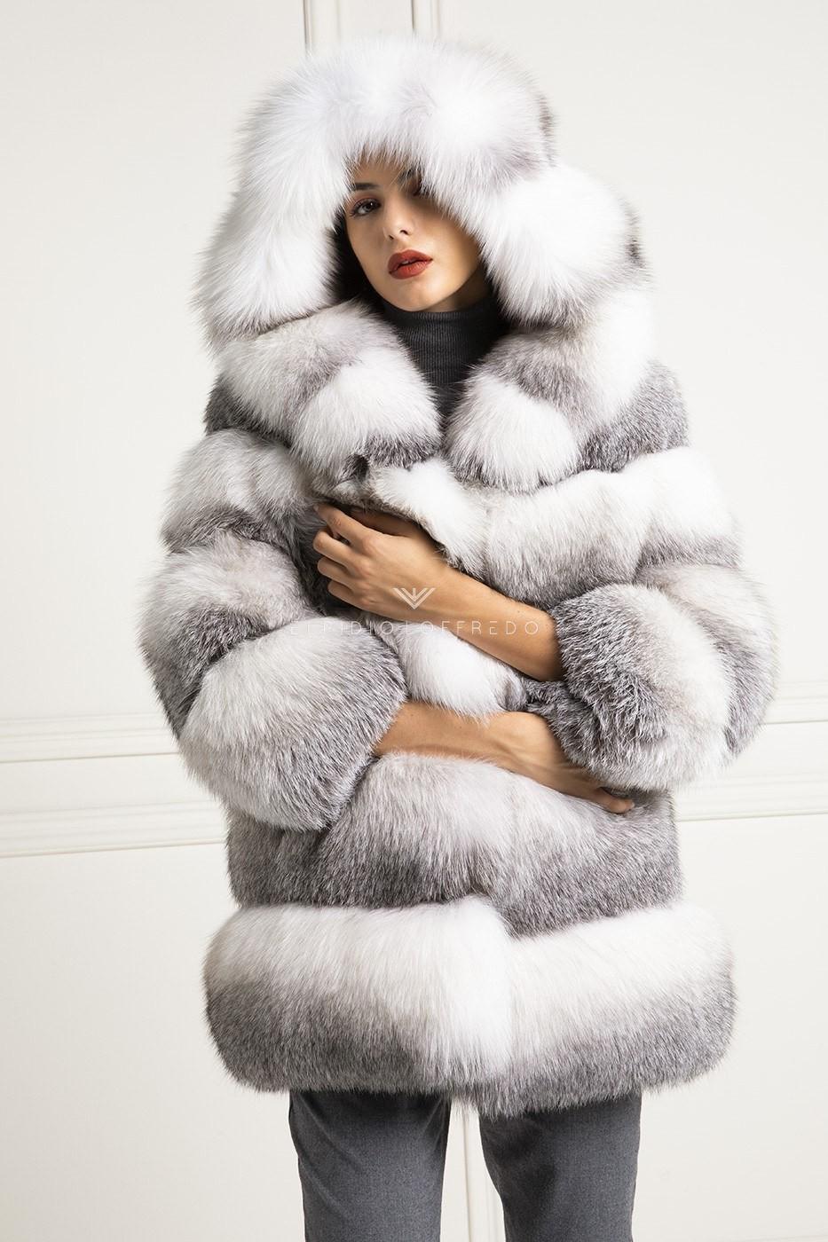 riutilizzare pelliccia volpe