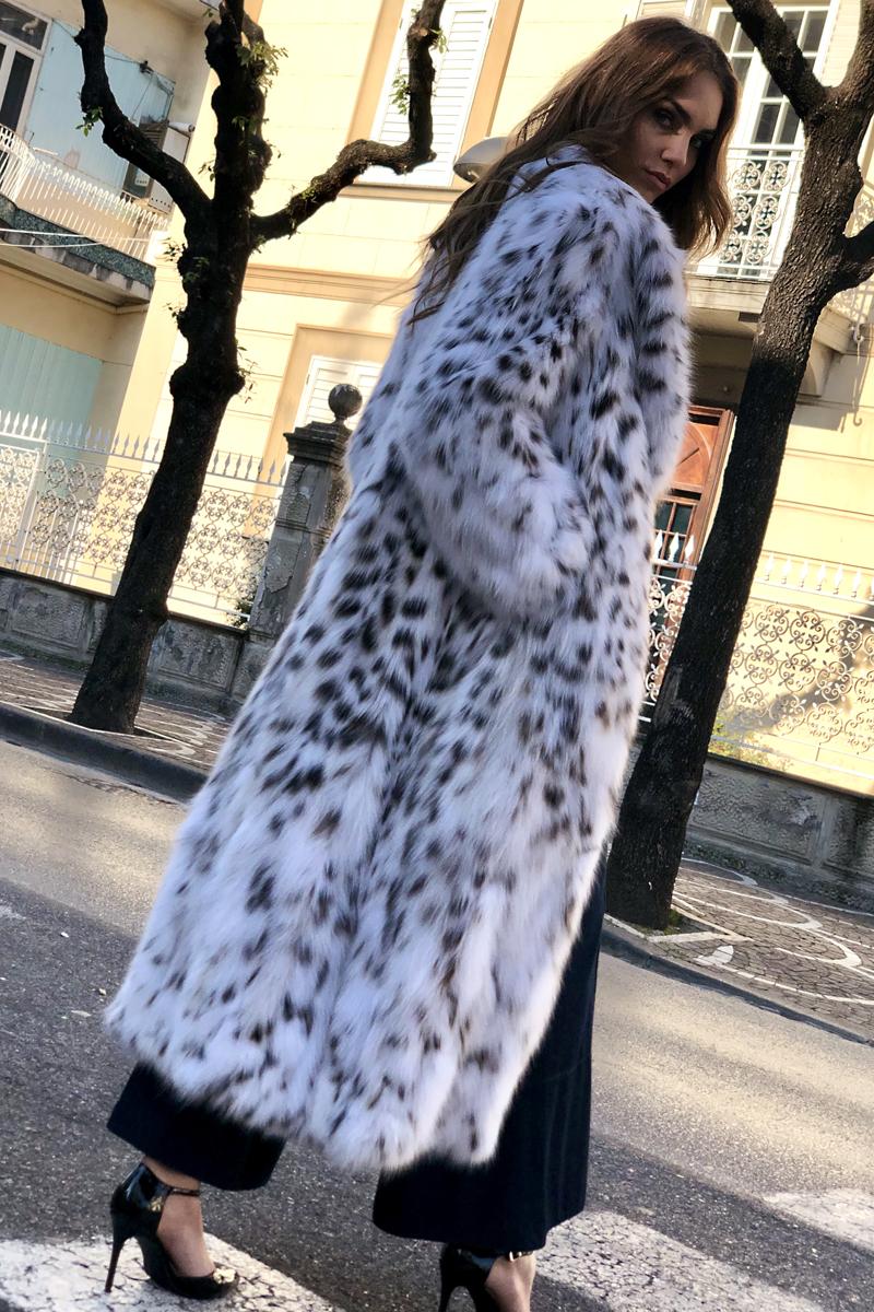 Cappotto di Lince White