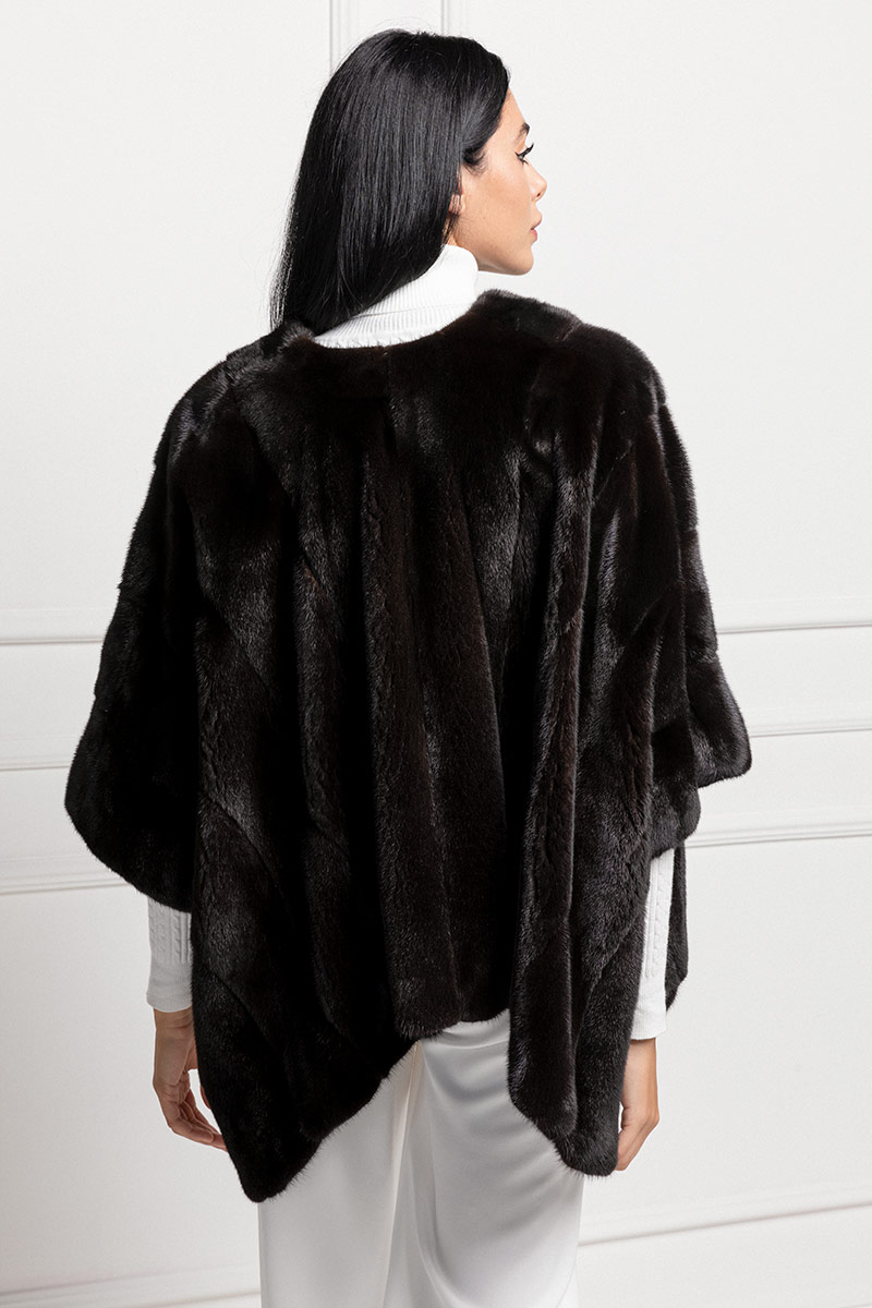 Blackglama Mink Cape