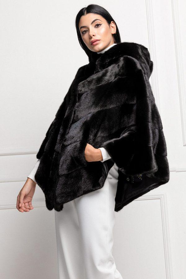 Black Mink Cape