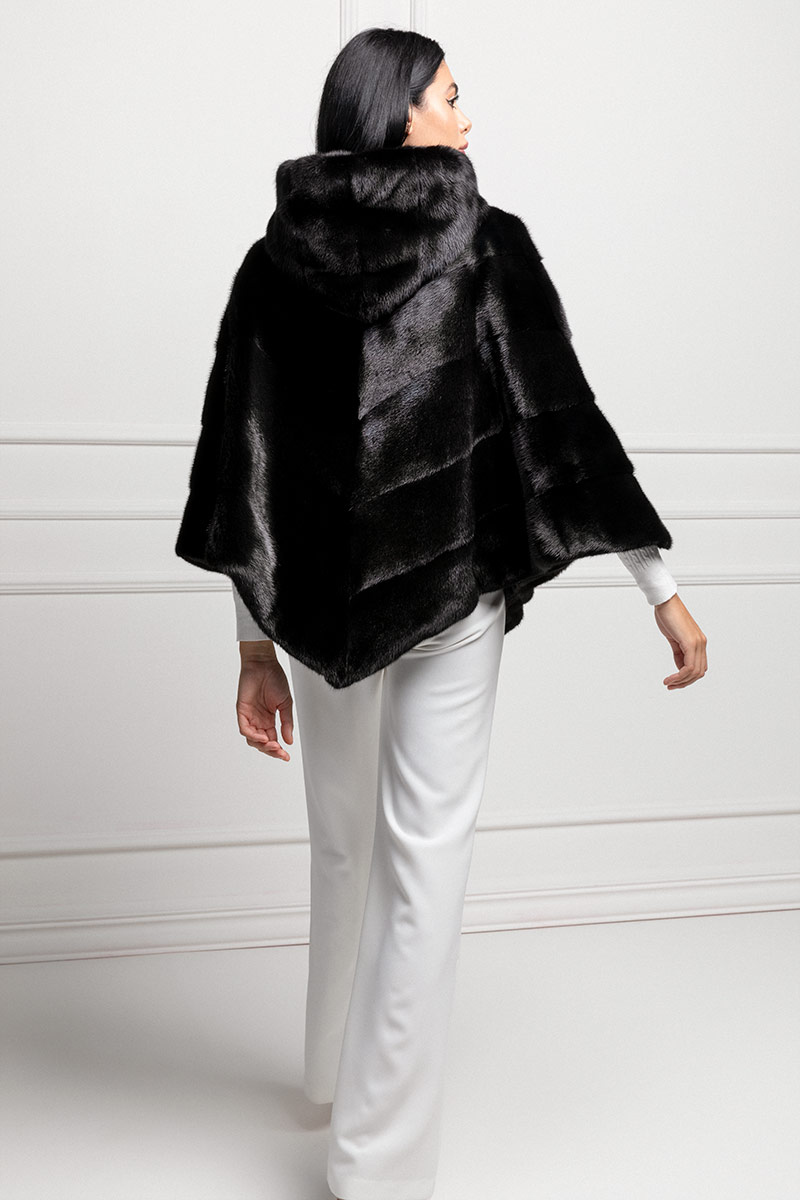 Black Mink Cape