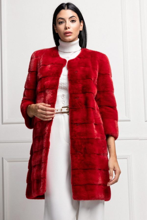 Red Mink Coat