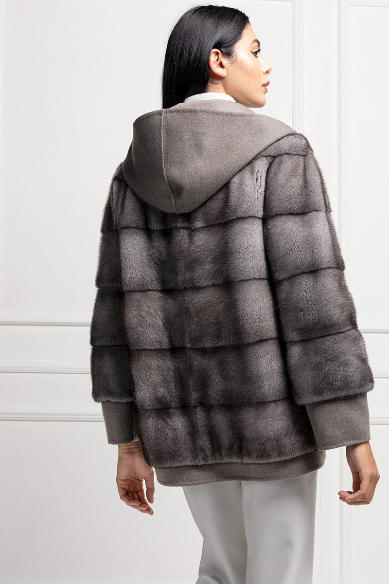 Cashmere Loro Piana with Mink